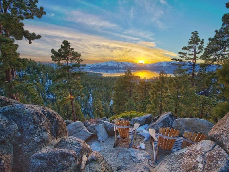 """""""Tranquility"""" La mega propiedad del magnate de la moda Joel Horowitz en Lago Tahoe, Nevada encontró nuevo dueño — La compró por $48 MILLONES"""