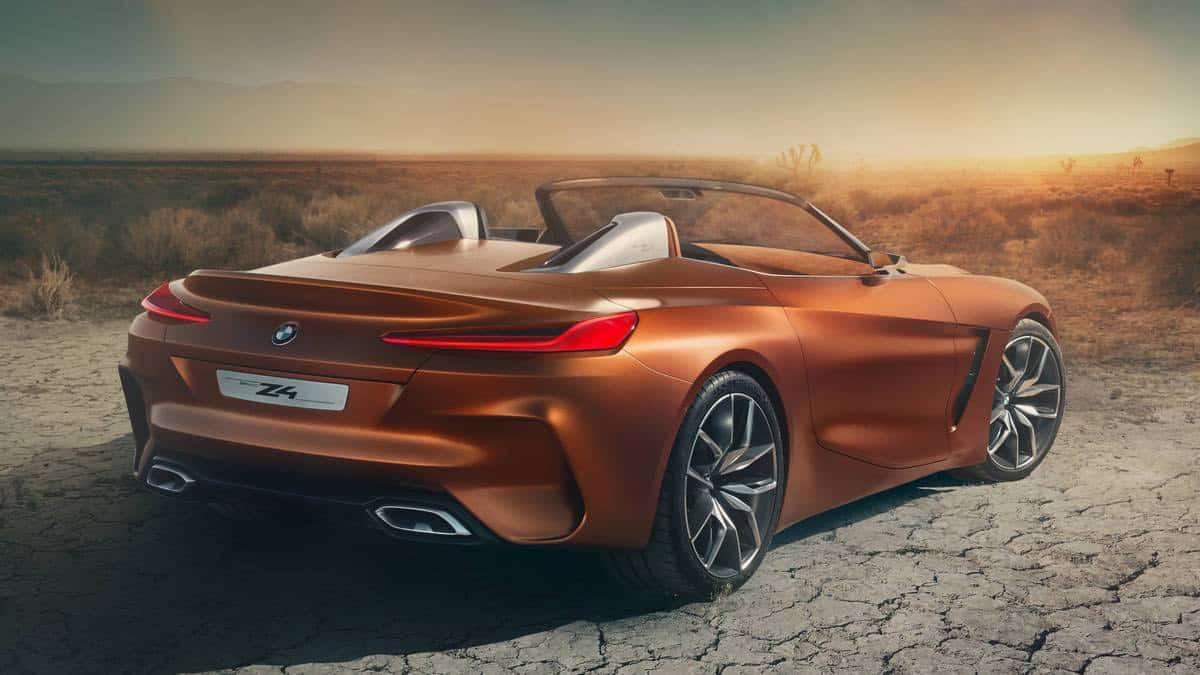 """BMW Concept Z4: Un adelanto al nuevo """"Roadster"""" que llegará este año"""