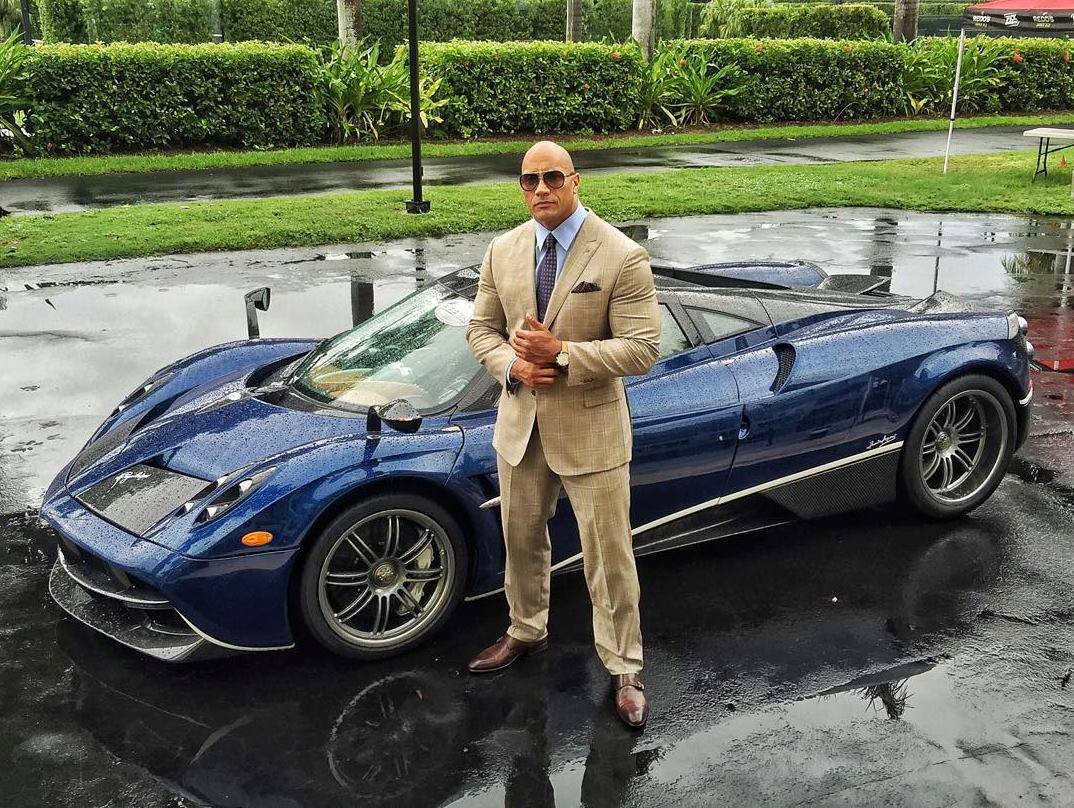 "Dwayne Johnson ""The Ballers"""