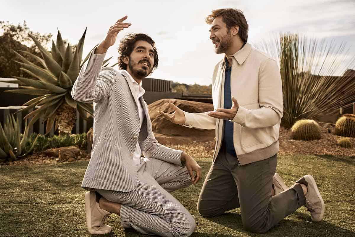 Ermenegildo Zegna presenta su más reciente capítulo de su campaña Defining Moments interpretada por los actores Javier Bardem y Dev Patel