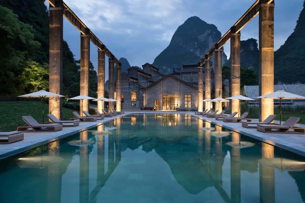 Alila Yangshuo, un antiguo ingenio de azúcar convertido en un hermoso resort de lujo