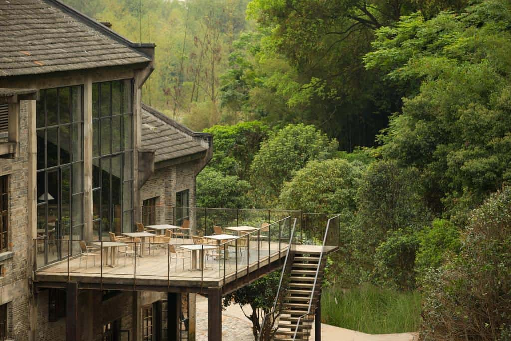 Un antiguo ingenio de azúcar convertido en un hermoso resort de lujo