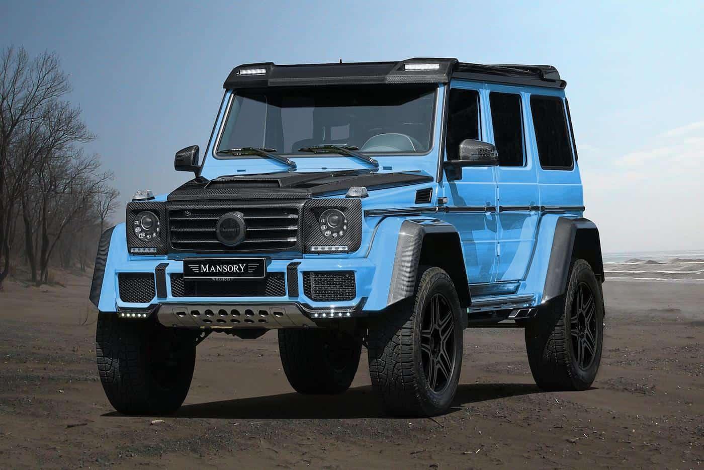 MANSORY presenta la Mercedes G500 4×4²