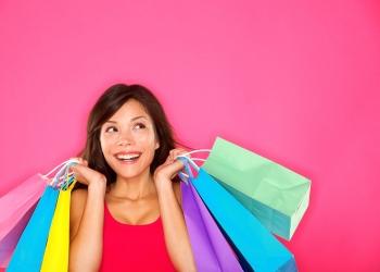 Mujer de compra