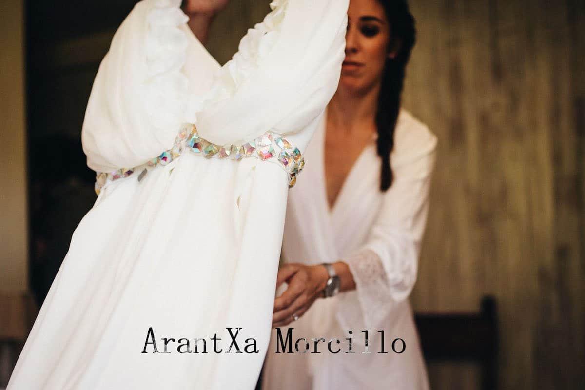 Arantxa Morcillo: novias y ceremonia a medida