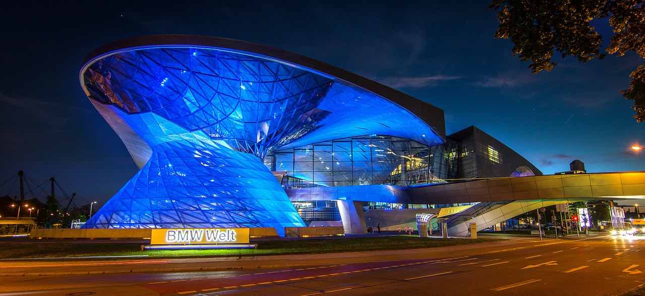 BMW Welt en Múnich, Alemania