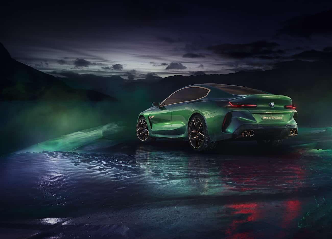 BMW Concept M8 Gran Coupe de 4 puertas
