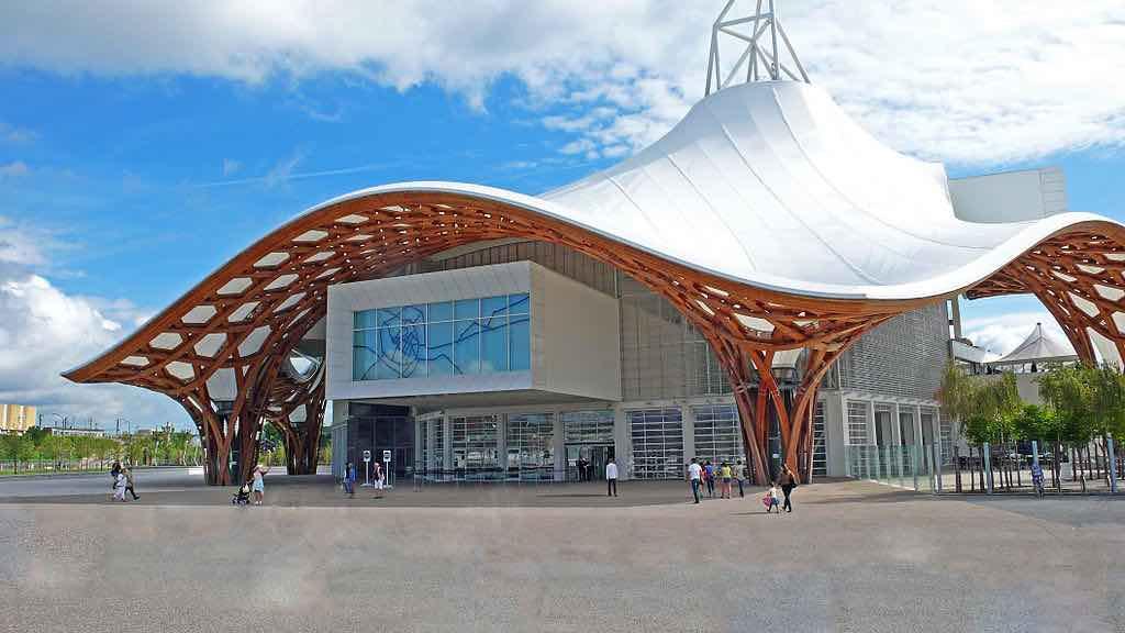 Centro Pompidou-Metz en Metz, Francia