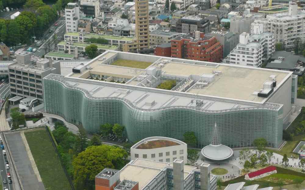 Centro Nacional de Arte en Tokio, Japón