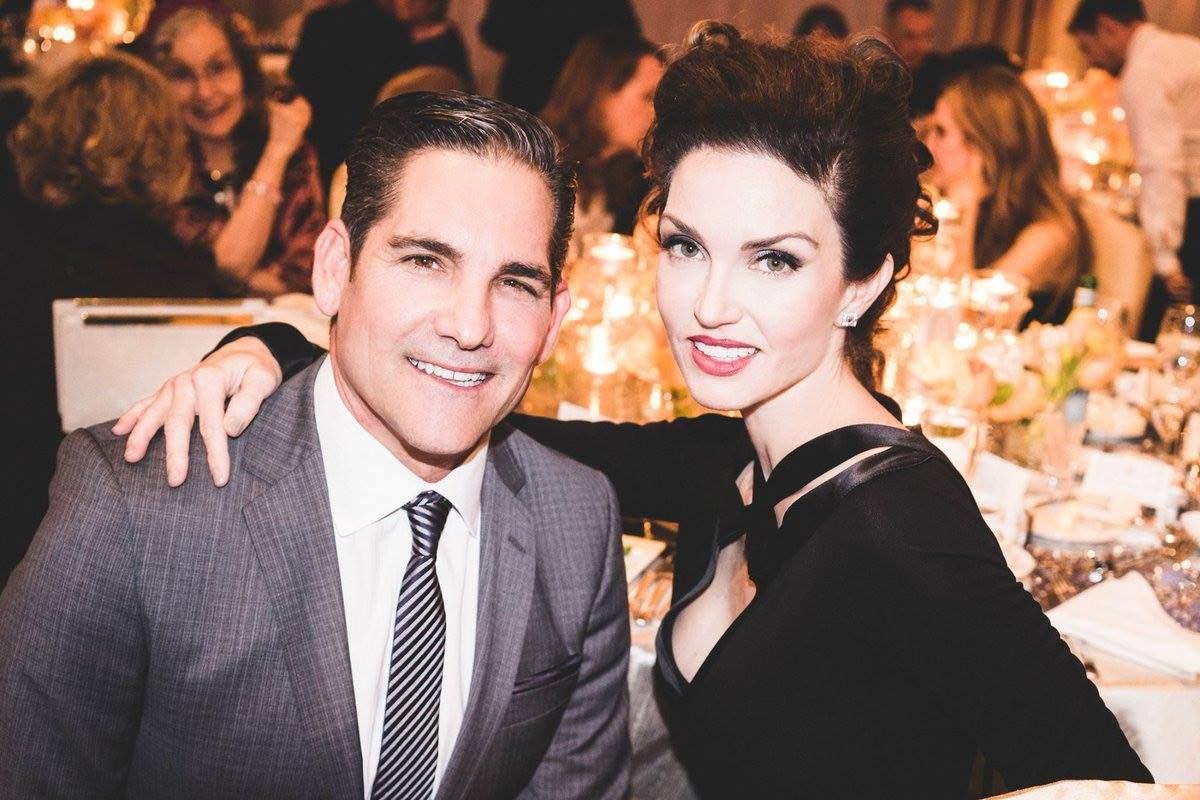 Grant Cardone y su esposa, Elena Cardone