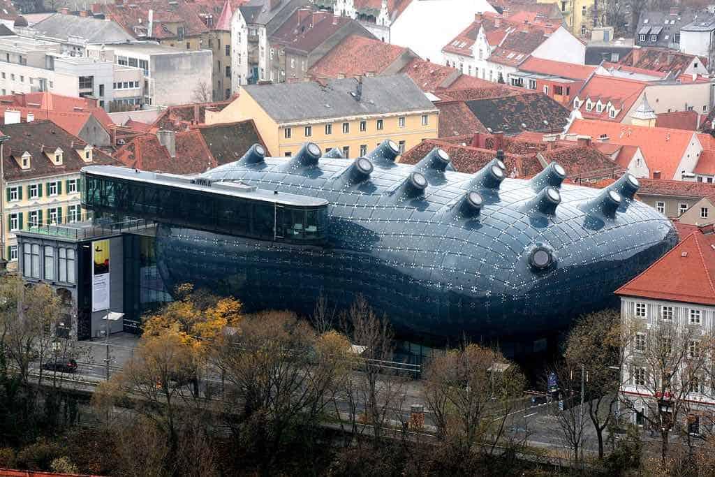 Kunsthaus Graz en Graz, Austria