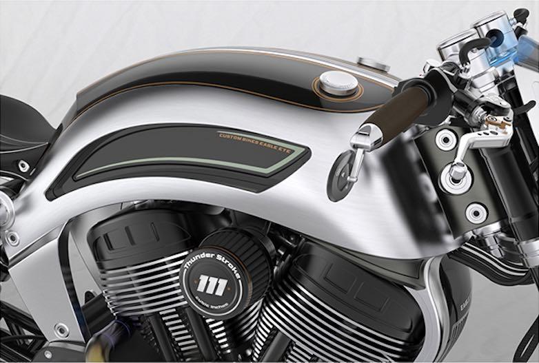 "Motocicletas personalizadas ""Eagle Eye"", un concepto desde Serbia"