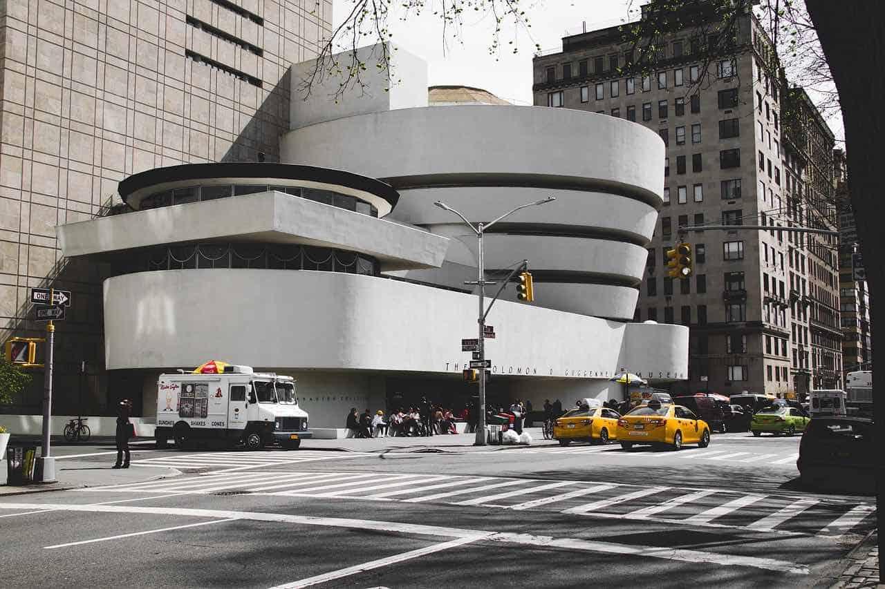 Museo Solomon R. Guggenheim en Nueva York, EE.UU.