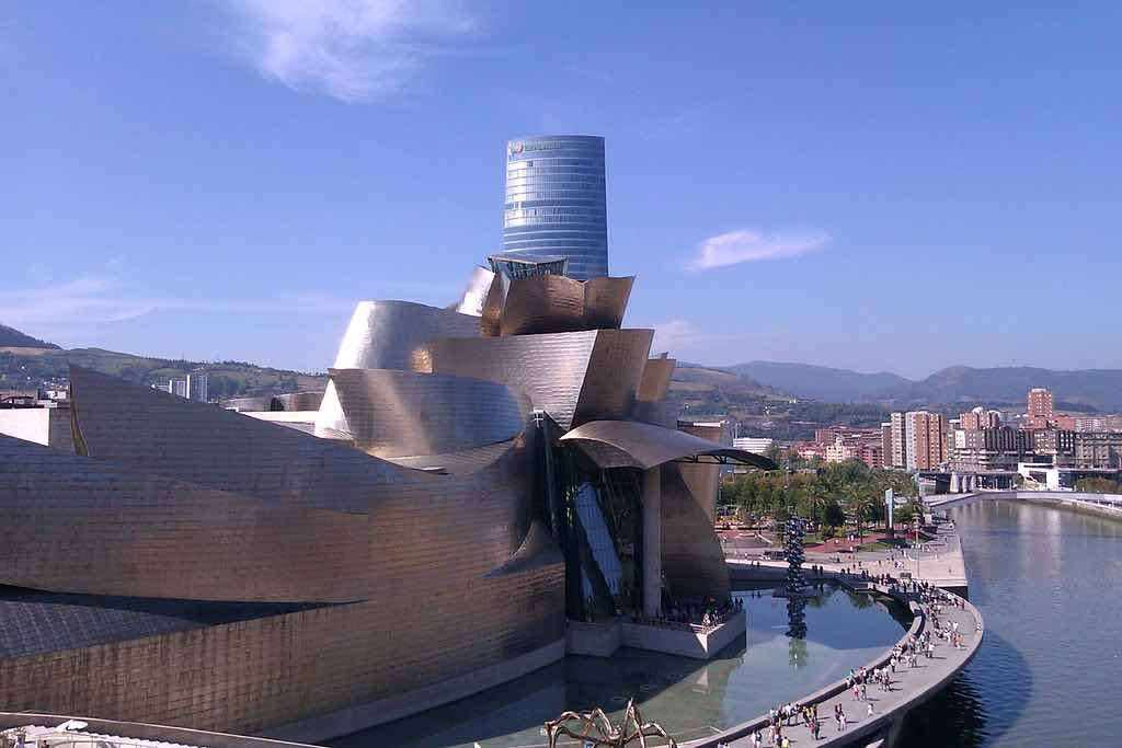 Museo Guggenheim Bilbao en Bilbao, España