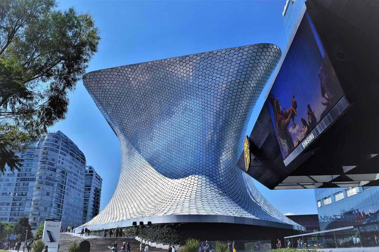 Museo Soumaya Plaza Carso en la Ciudad de México, Mexico
