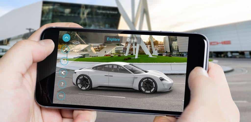 Porsche presenta la app 'Mission E Realidad Aumentada'