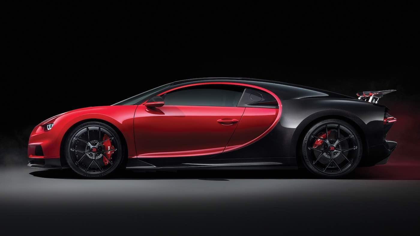Bugatti revela el nuevo Chiron Sport 2019 en el Salón del Automóvil Ginebra 2018