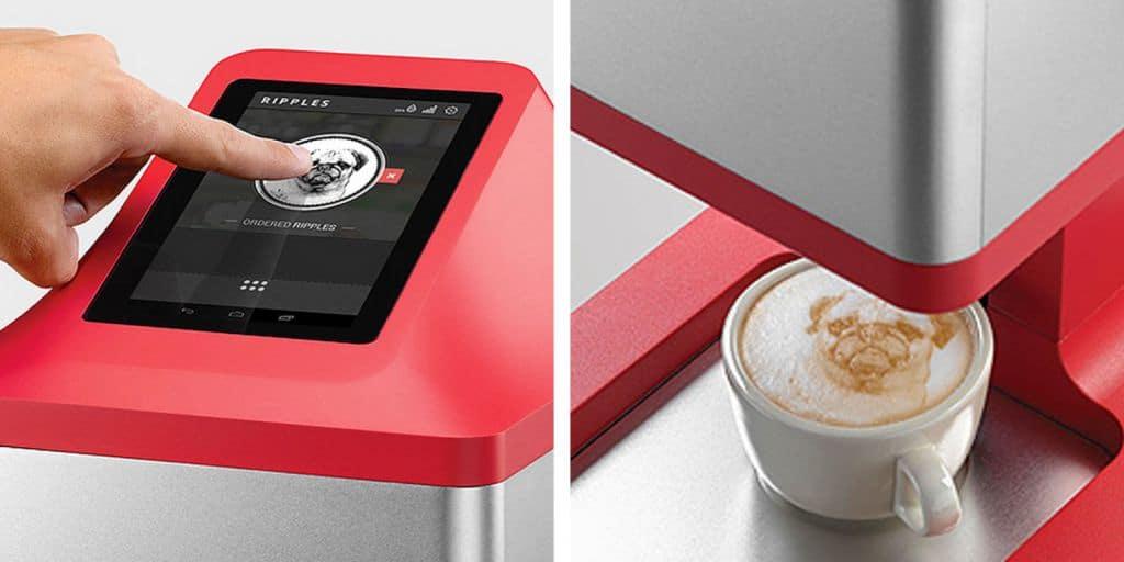 La increíble cafetera que convertirá tu café en una obra de arte