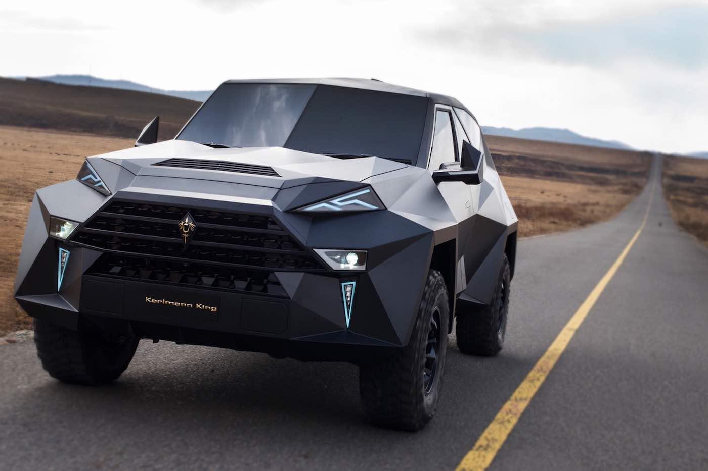 Karlmann King es el SUV más caro del mundo: Seis toneladas de lujoso blindaje por $2 millones