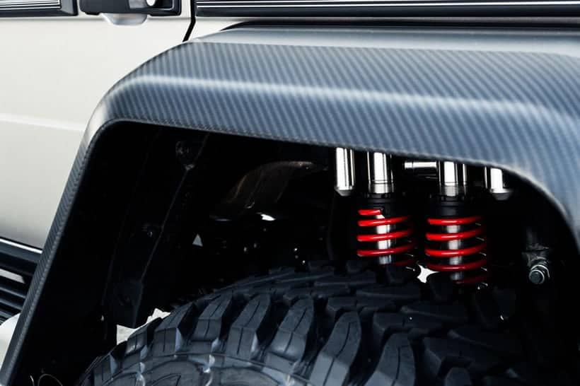 Todoterreno Mercedes G-Class por BRABUS ¡Una proeza entre el lujo y el Off-road!