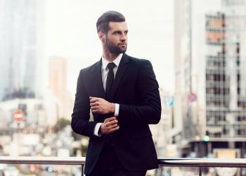 Hombre de negocios moderno