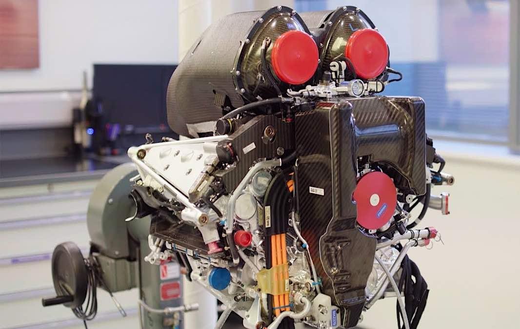 ¡El motor Mercedes F1 más potente jamás fabricado!