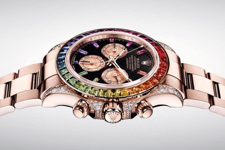 """Rolex """"Rainbow"""" Daytona regresa en oro Everose de 18 quilates"""