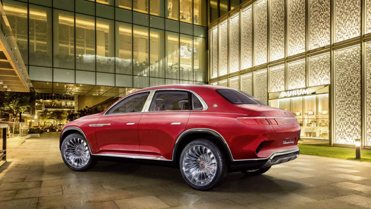 Vision Mercedes-Maybach, lo último en lujo alemán