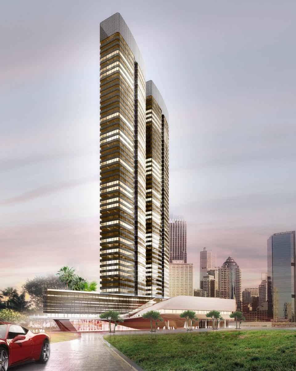 Yacht House, Un rascacielos residencial de lujo diseñado por Pininfarina