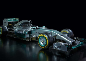 Coche de Formula One Mercedes-Benz