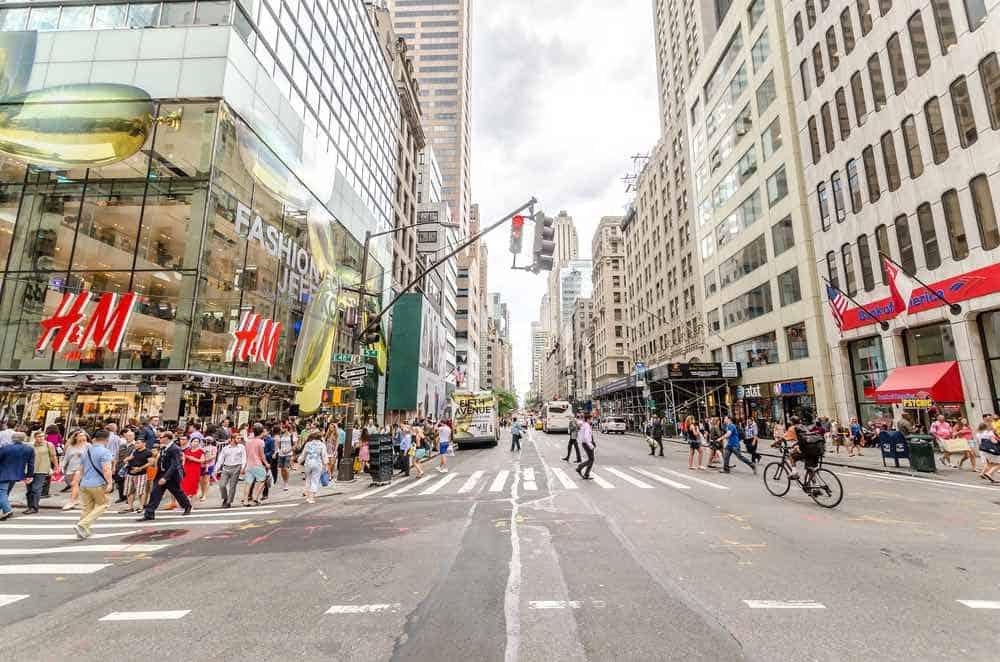 Tienda H&M en Quinta Avenida