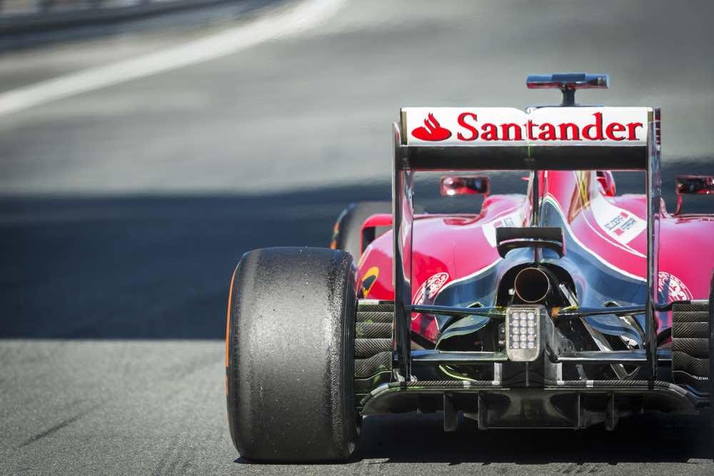 Coche de Fórmula 1 Ferrari SF15-T F1
