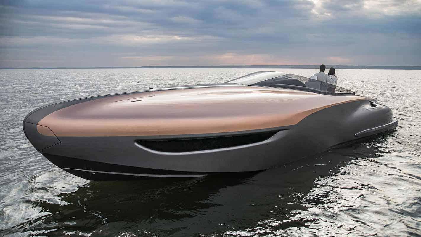 Concepto de yate deportivo Lexus entra en producción