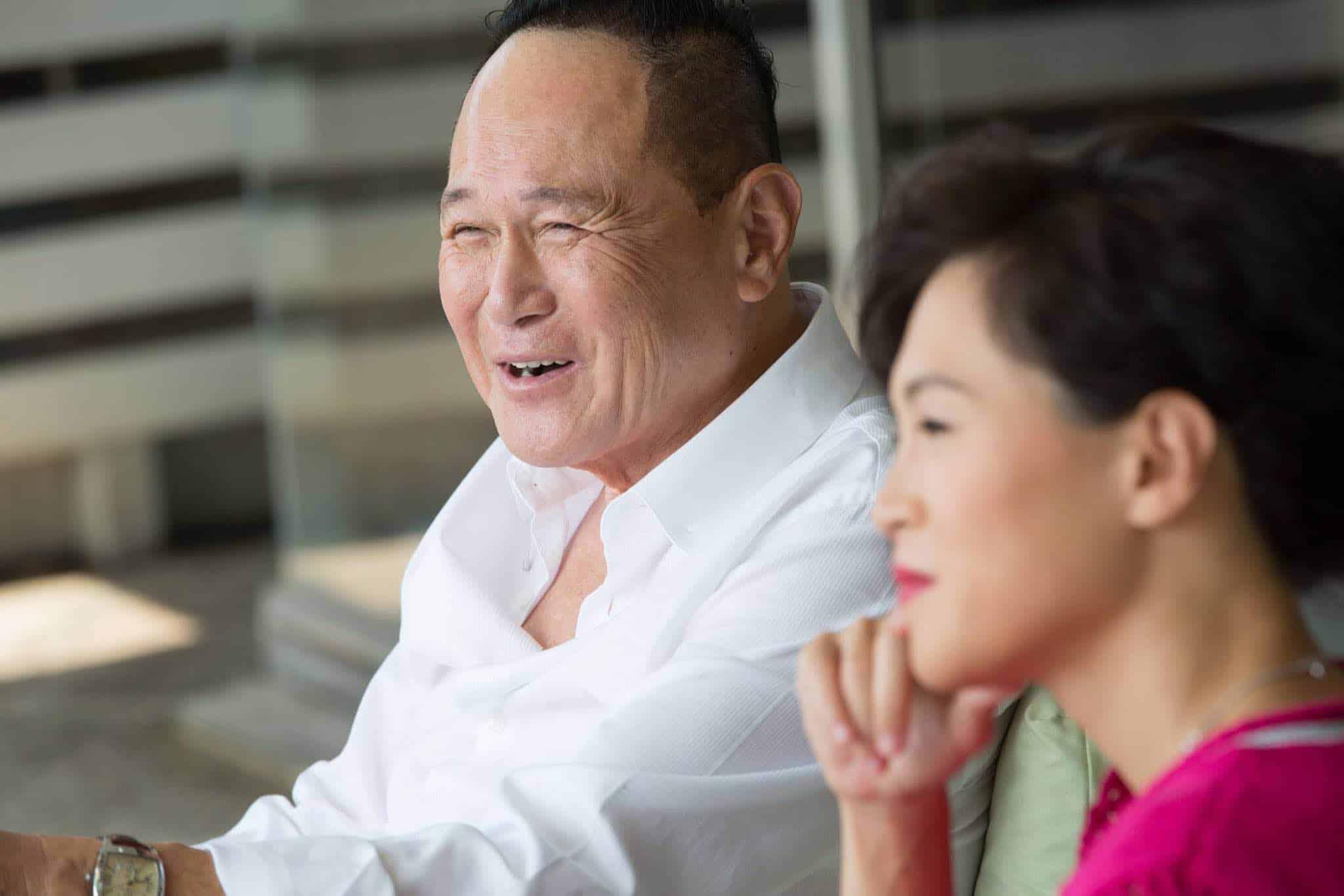 Cecil Chao y Gigi Chao
