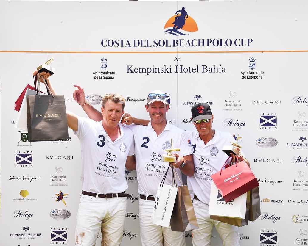 Kempinski Hotel Bahía gana la I Costa del Sol Beach Polo Cup