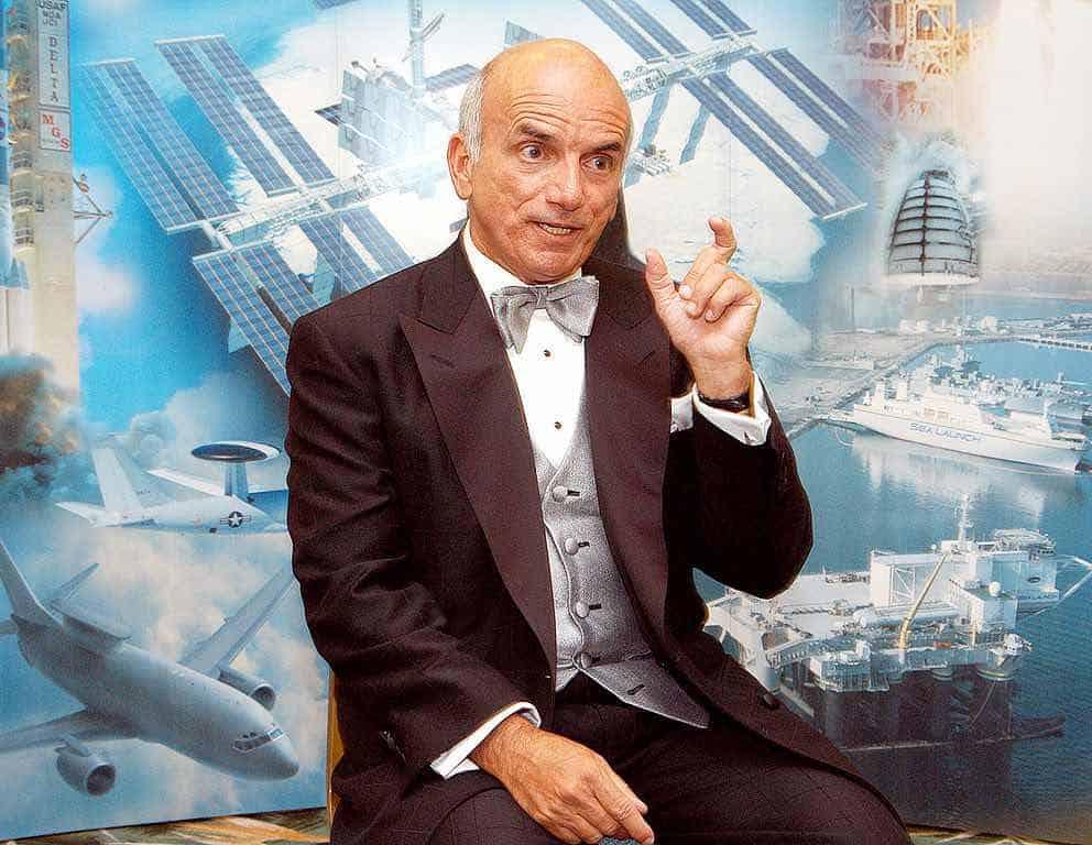 El multimillonario estadounidense de las finanzas Dennis Tito