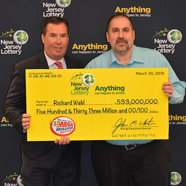 Ganador de la lotería Nueva Jersey