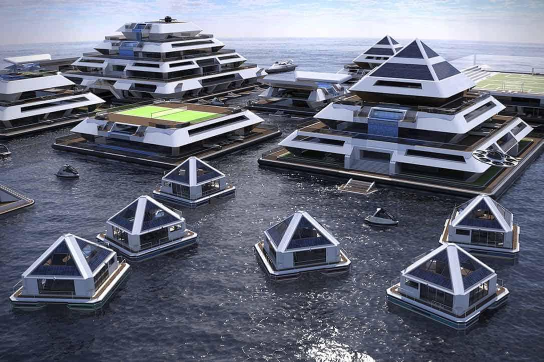 Wayaland: la increíble comunidad de la pirámide flotante del futuro