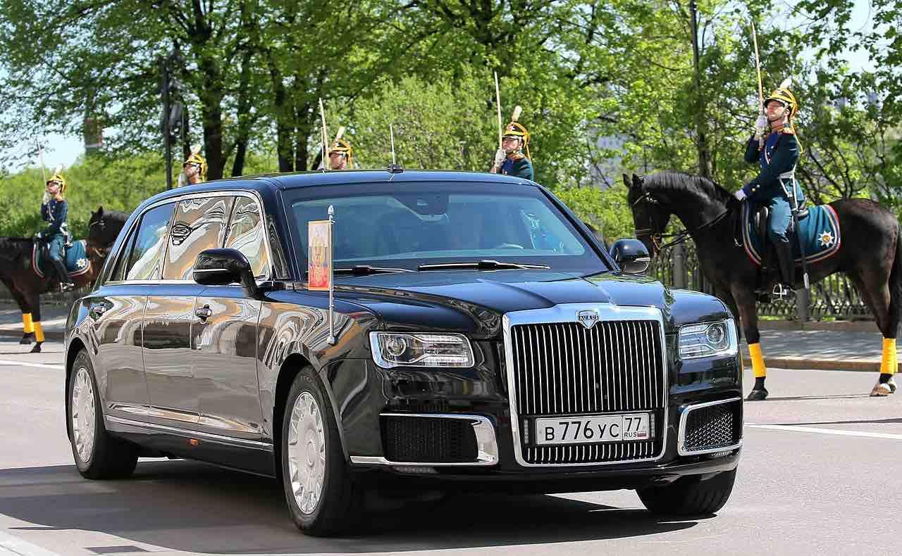 Aurus Senat, la nueva limusina presidencial de Putin está lista para la acción