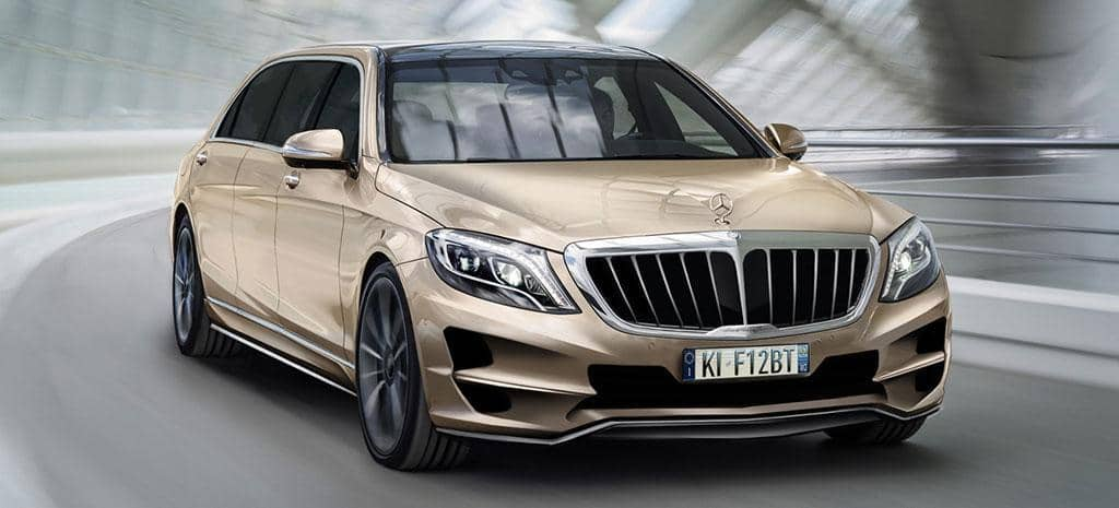 ARES Design presenta la exclusiva limusina personalizada: Mercedes-Benz S-Class XXL