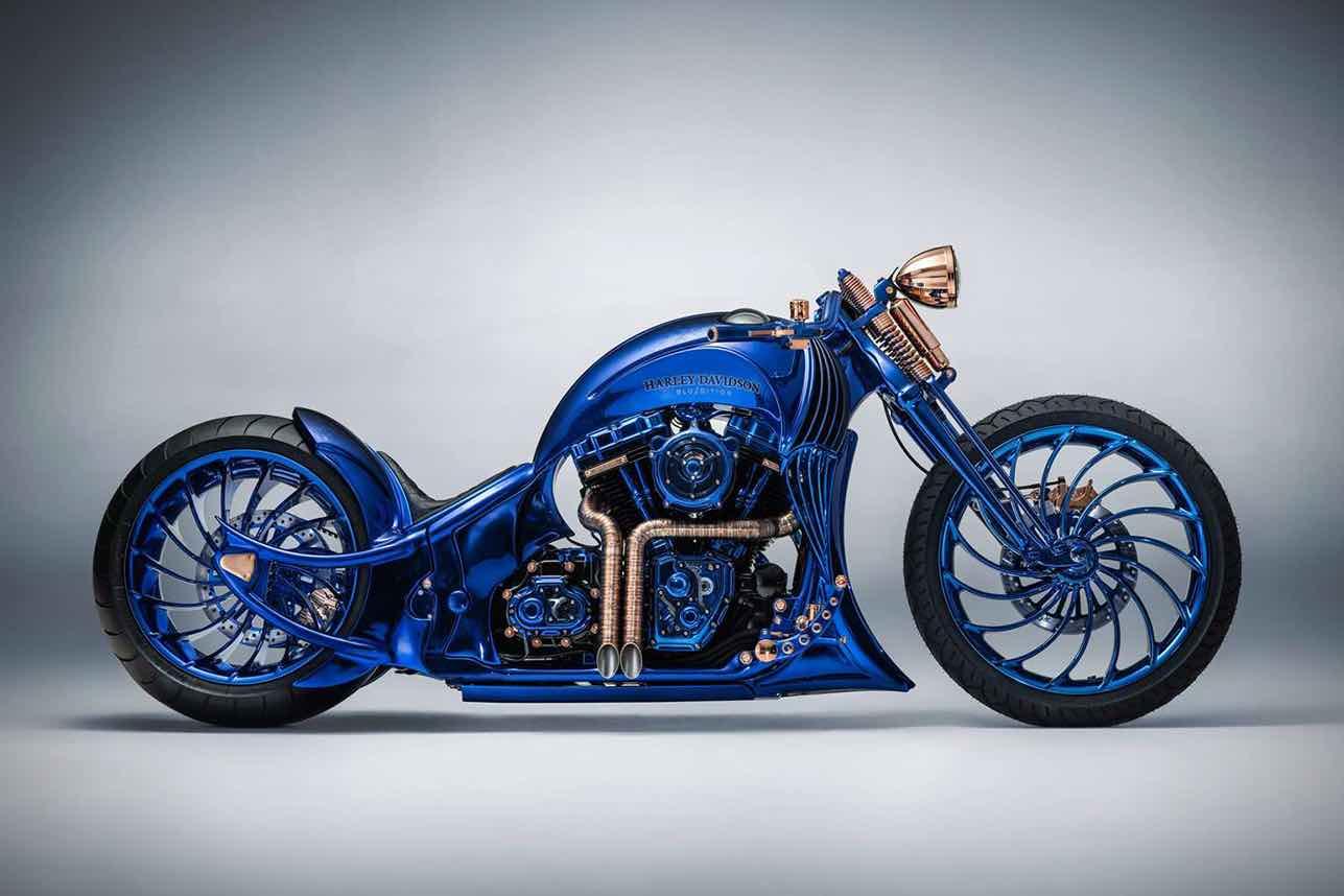 Harley-Davidson + Bucherer Blue Edition de $1,79 millones