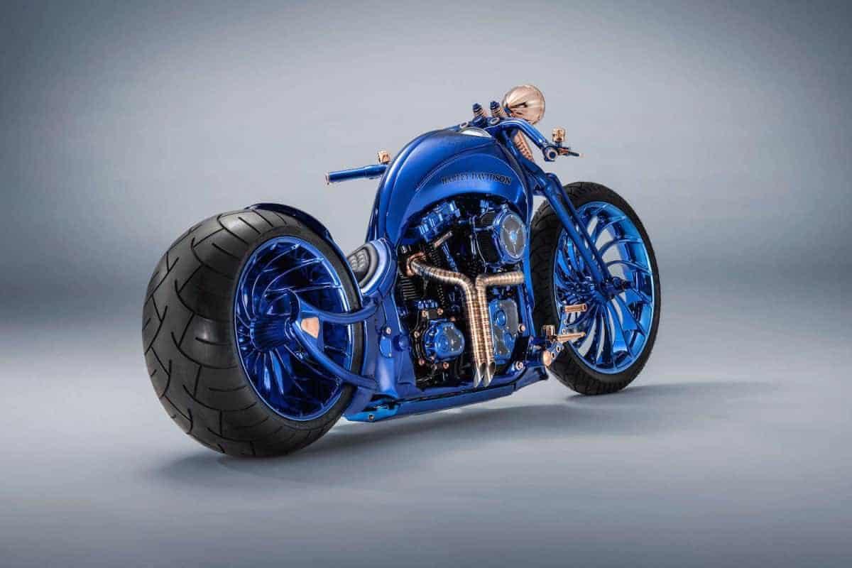 """Harley-Davidson + """"Bucherer Blue Edition"""" ¡Té presentamos la motocicleta más cara del mundo, jamás creada!"""