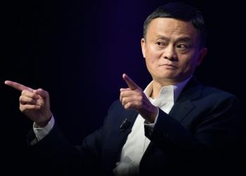 El empresario chino y CEO del grupo Alibaba Jack Ma