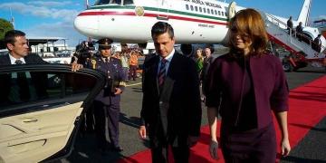Enrique Peña Nieto y Angélica Rivera de Peña