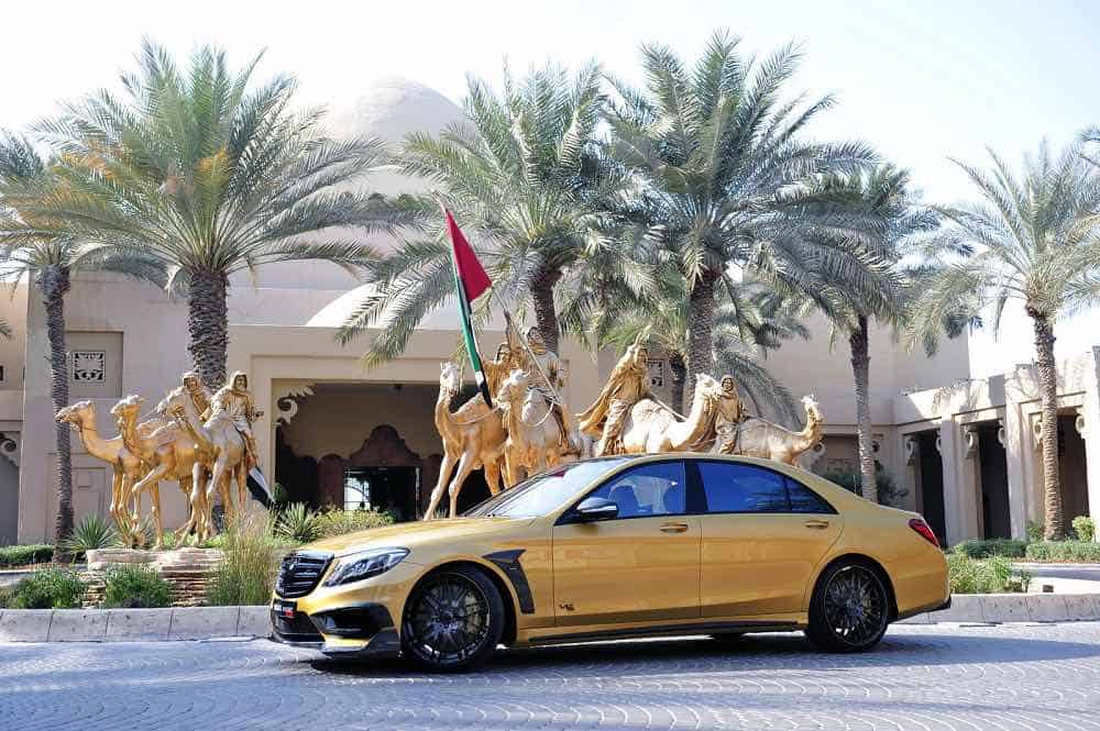 BRABUS Mercedes S65 AMG Rocket 900 Desert Gold Edition