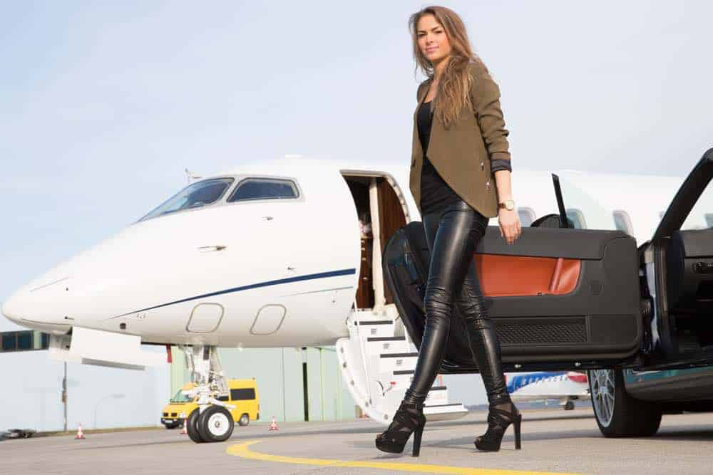 Vuelo en Jet privado