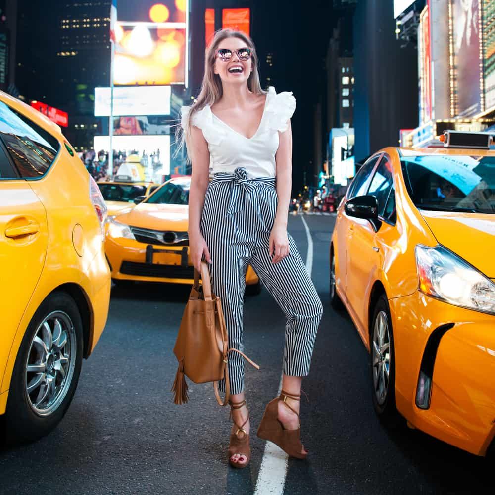 Mujer en Nueva York