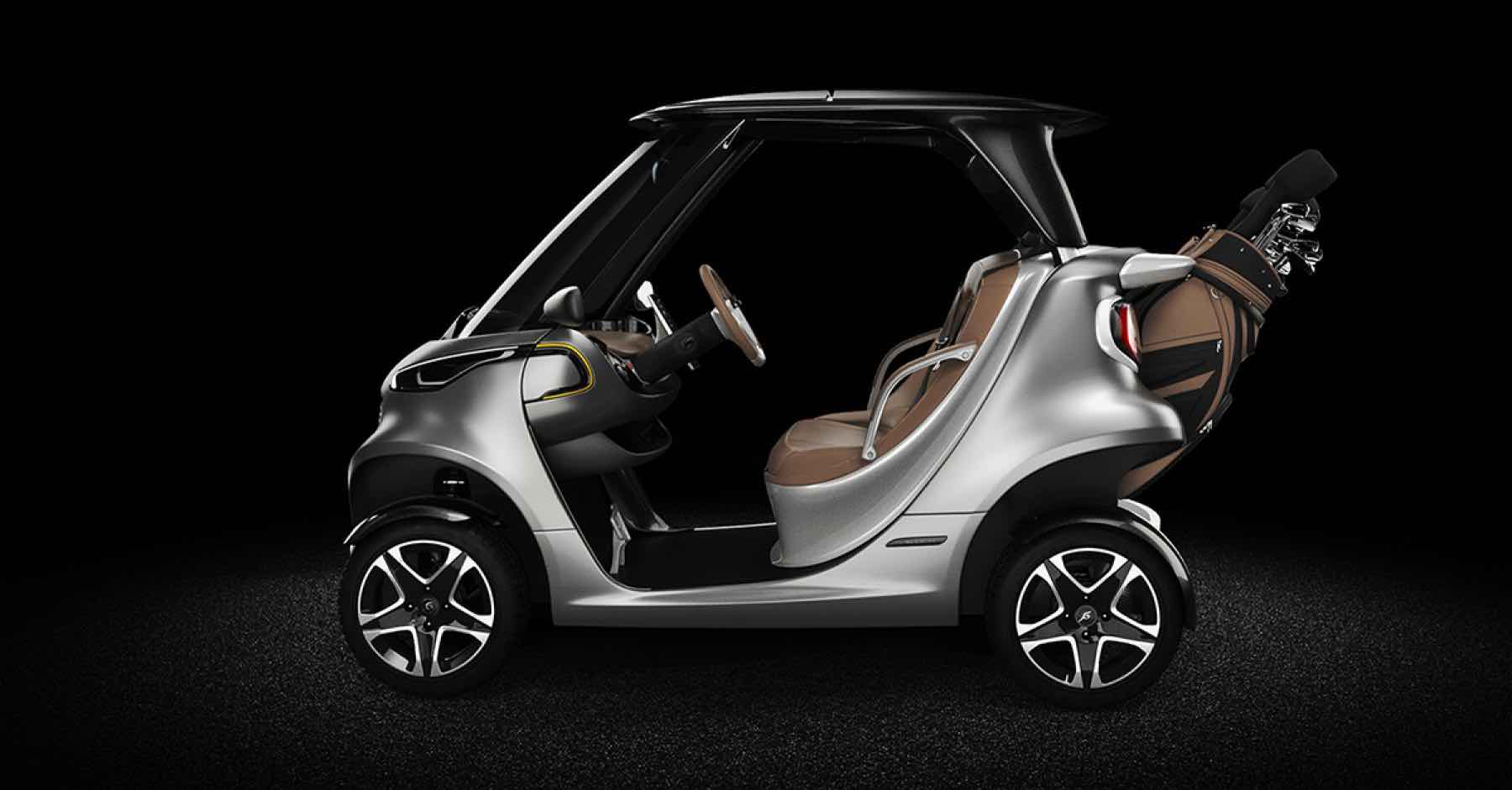 Garia Golf Car inspirado en el Mercedes-Benz Style