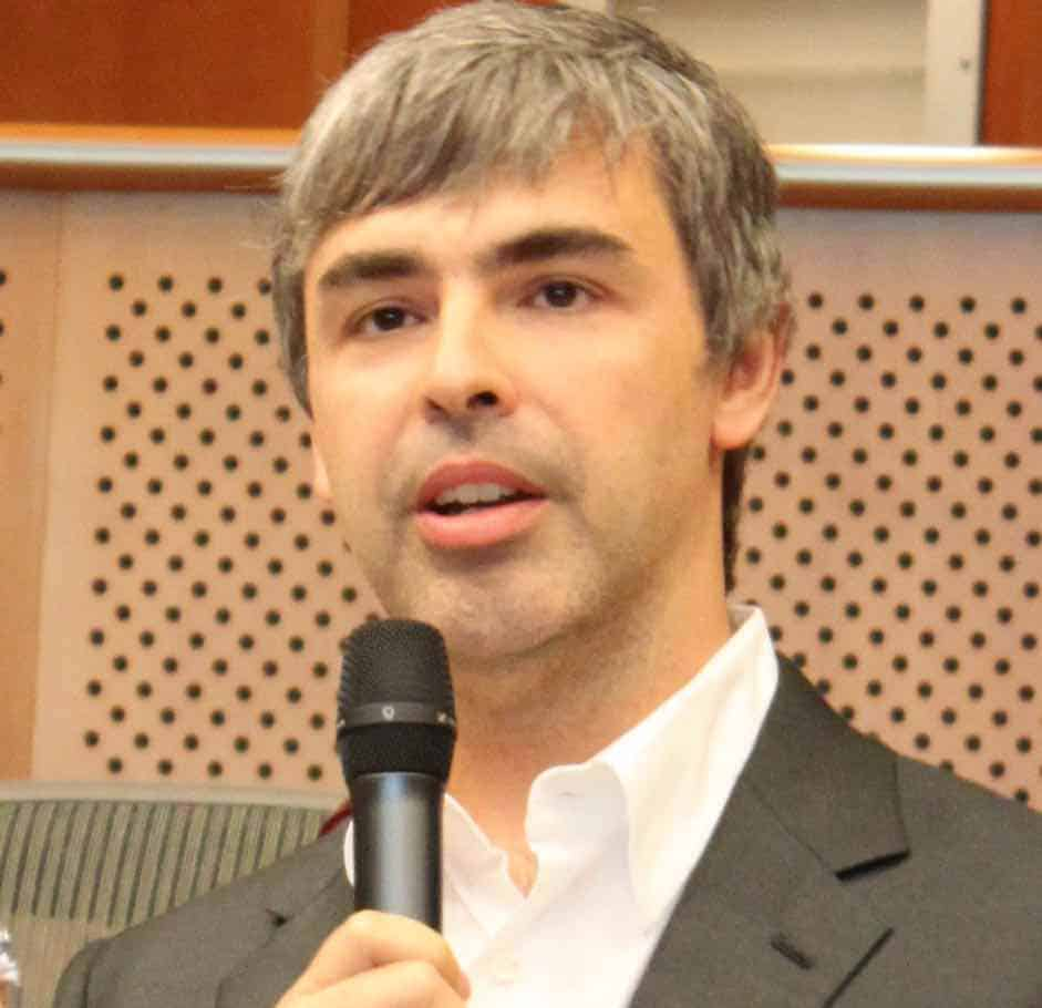 Larry Page, la historia de este increíble genio cofundador de Google – MEGA  RICOS