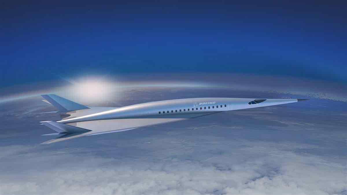 Este avión hipersónico Boeing te llevará de Nueva York a Londres en solo dos horas